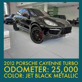 2012 Porsche Cayenne Turbo 4.8 PDK Low KM siap pakai
