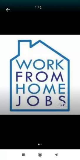 Earn money online sitting home work