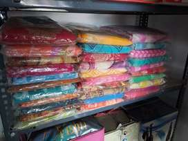 Sarees and shirts and pants all ready mades