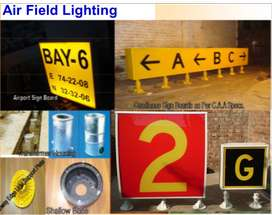 Air Field Lighting Sign Boards, DMB ,Guidance Sign, Bay Designation