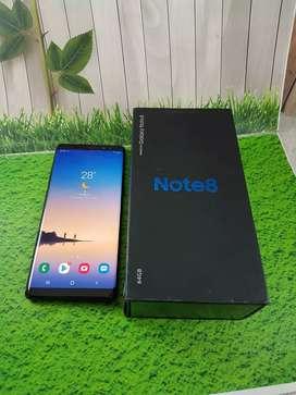 Samsung galaxy note 8 lengkap mulus