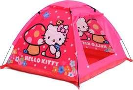 Tenda Kotak Kemping Hello Kitty Anak
