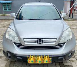 Honda CRV 2.4 matic ( at ) th 2007 silver