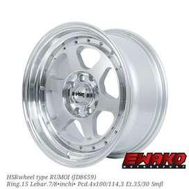 Rumoi Smfl - Velg Mobil Racing Hsr Wheel Import (free ongkir)