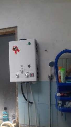 Water Heater Gas - Mandi Air Hangat Bijak