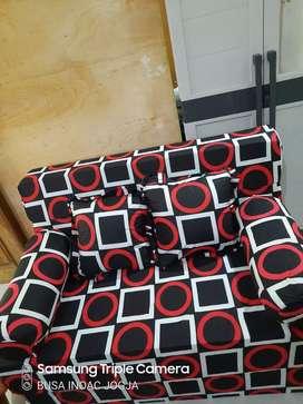 Sofabed INOAC EON LG D 23 Ukuran 200x120x20