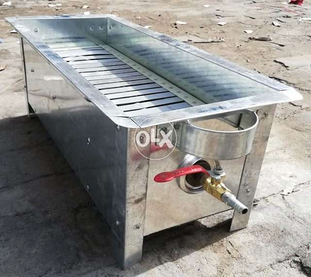 BBQ Gas Grill WIth BBQ 12 Sticks COD available 0