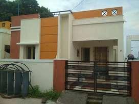 New 2 BHK Individual Houseffor sale @ Guduvanchery