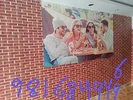 Home decor items , Wallpapers , pvc wall panels , pvc flooring, grass