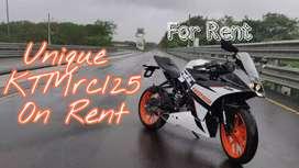 KTMRC125 FOR RENT | EENT A BIKE