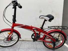 Sepeda lipat facific