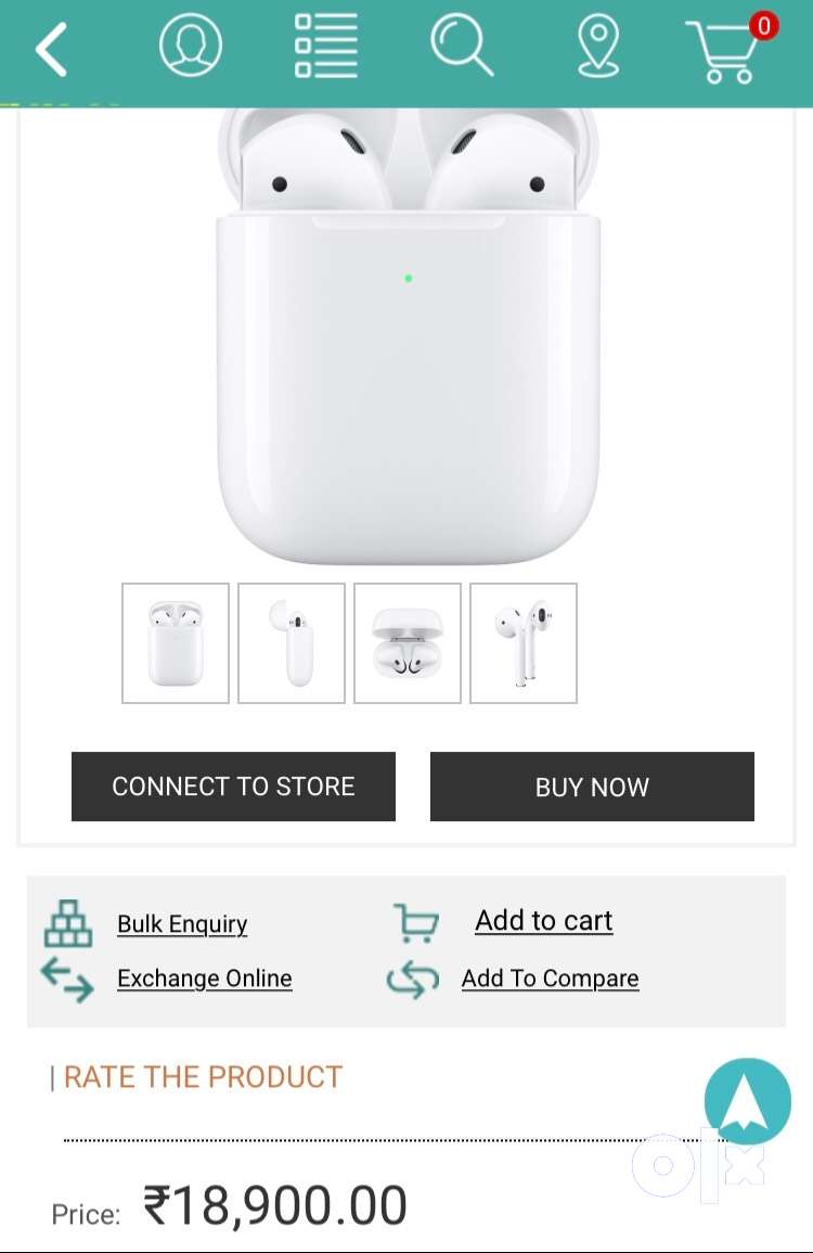 Apple AirPods 2 Wireless SealPack At 12998 0