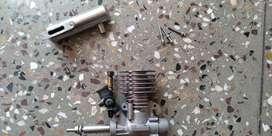 Toki RC Nitro Engine (2.5 cc) + Muffler (Current Market Price : 8500)