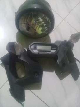 Jual lampu depan dan sepidometer Verza cb new