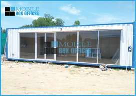 Office Container, Sandwich Office, portable container prefab, porta
