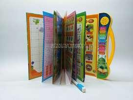 Mainan edukasi anak/e-book buku pintar ekectronik