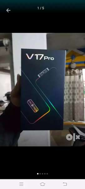 New vivo v17pro 8gb 128gb