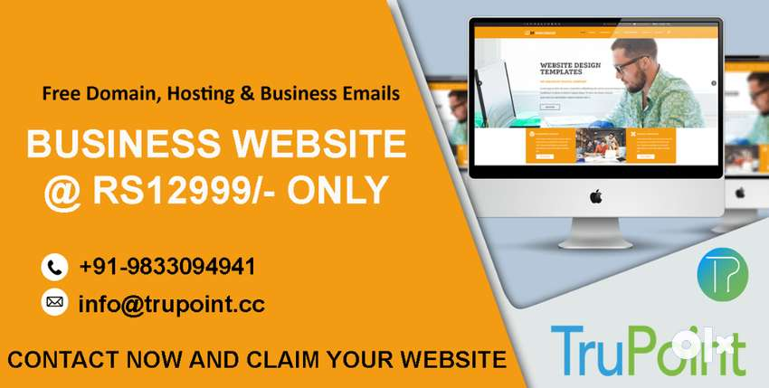 Business Website for Just Rs12,999 - Get Free Domain and Hosting Along 0