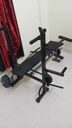 Gym bench 3000 Rs