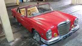 Mercedes Benz 280s Cabriolet '66