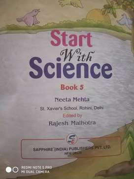 Start with science book 5
