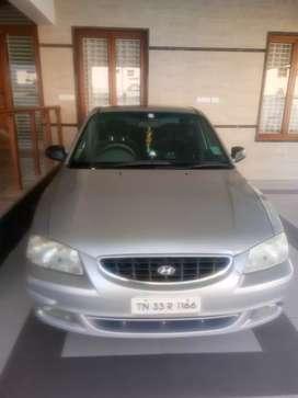 Hundai accent Gls petrol with Lpg 2001model Rc renewed upto 2021April