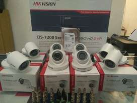 Paket Murah CCTV ALL HIKVISION 8 ch 2 MP