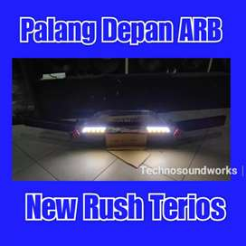 Palang depan arb towing for new rush terios for peredam mobil