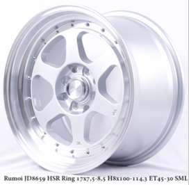 VELG MOBIL RUMOI JD8659 HSR R17X75/85 H8X100-114,3 ET45/30 SMFL