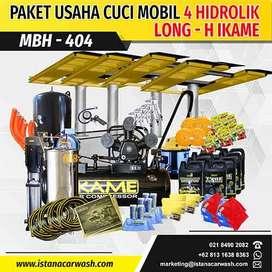 "PAKET CUCI MOBIL ""4 HIDROLIK"" MBH-404 IKAME, Hidrolik Cuci Mobil Motor"