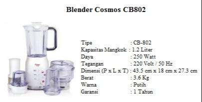 blender cosmos cb802 0