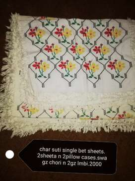 embroided charsuti bedsheets