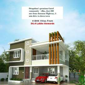 Superior Quality 4 BHK Villas for Sale in Ottapalam