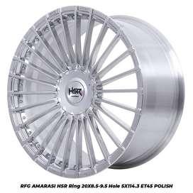 pelek ORI HSR type RFG AMARASI R20 pcd 5X114,3 buat CRV  free ongkir