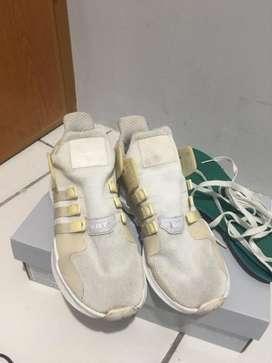 Dijual Sepatu Adidas EQT Triple white Original 100%