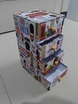 Kotak laci london handmade