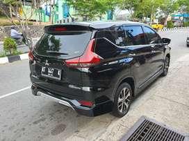 Mitsubishi Xpander ultimate 1,5 matic hitam metalik jarang pakai