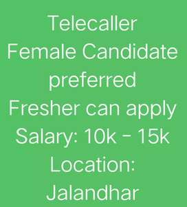 Need candidates