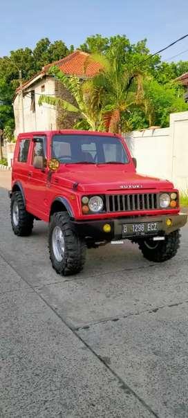 Jimny SJ 410 thn 86 warna merah