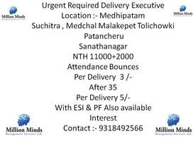 Requried Delivery Executive