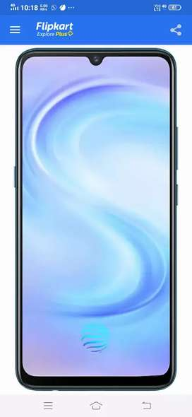 Vivo S1 4month mobile with osm performance 6gb ram 128gb rom