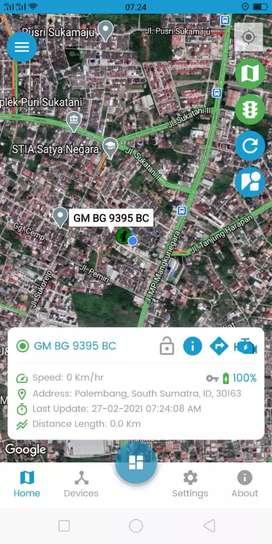 Aplikasi GPS tracking system