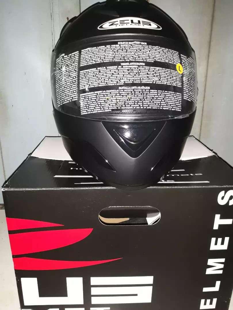 JUAL CEPAT HELM FULL FACE ZEUS ZS-806 Matt Black 0
