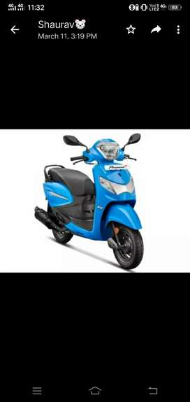 Pleasure+bs6 scooty hai 2021 model 500 km chali hai finace pr li h