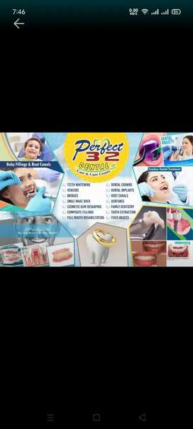 Female dental assistant required