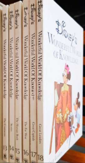 Ensiklopedia Anak Disney Lengkap langka