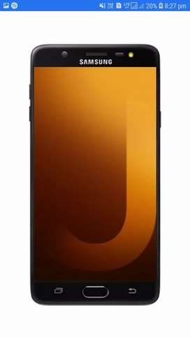 Samsung j7max  good  condition mobile with box