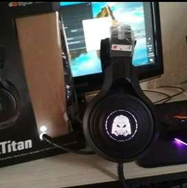 Digital alliance Black titan 7.1 RGB
