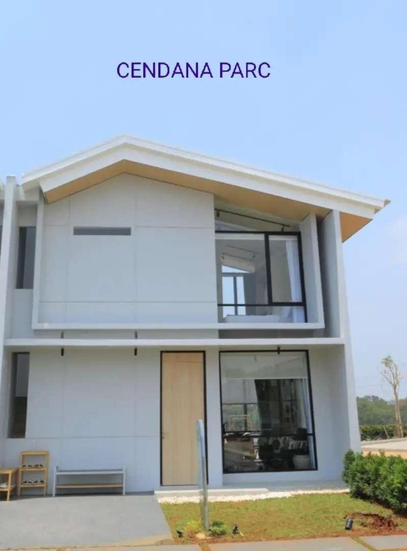 Harga terjangkau rumah 2 lantai Cendana Parc Lippo Karawaci