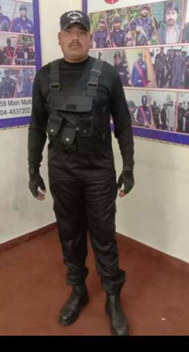 Security guards Trained Civilian, Army person, gunman, protocol